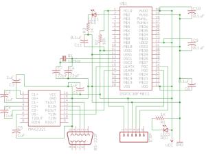 dsPIC30F4011 Prototyping Board Schematic (small)