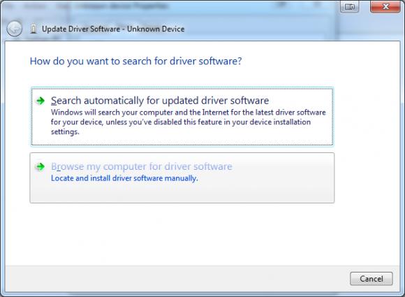 Update Driver Software 1
