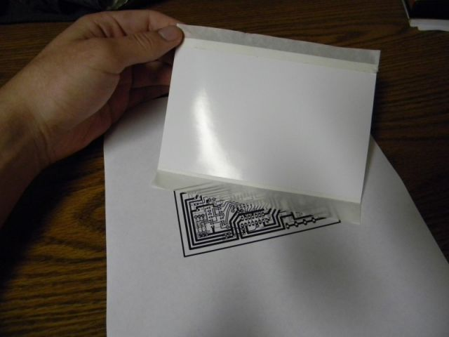 PCB toner transfer paper