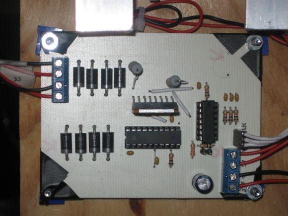 L297 L298 Stepper Motor Controller Front (PCB version)