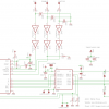 L297 L298 Stepper Motor Controller Schematic (PCB version)
